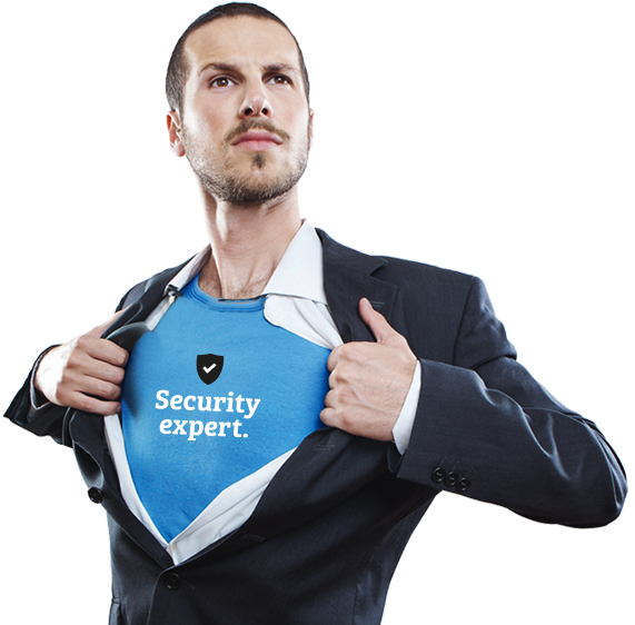 Security expert hero